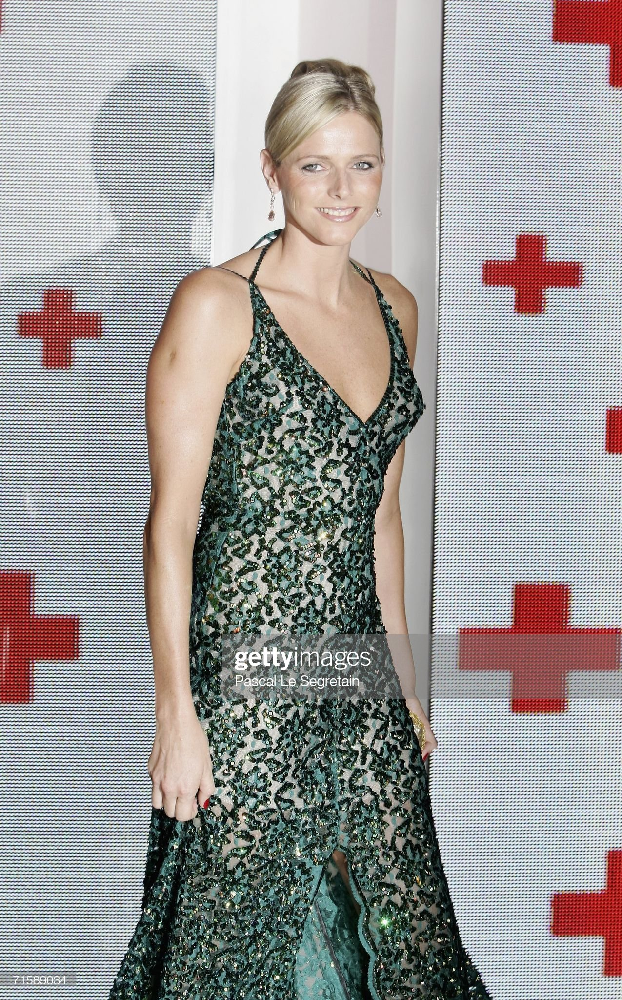 58th Red Cross Ball In Monte Carlo, Monaco : News Photo