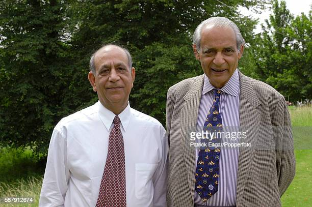 Former team manager and BCCI President Raj Singh during the tour match between India and West Indies A at Arundel 16th July 2002