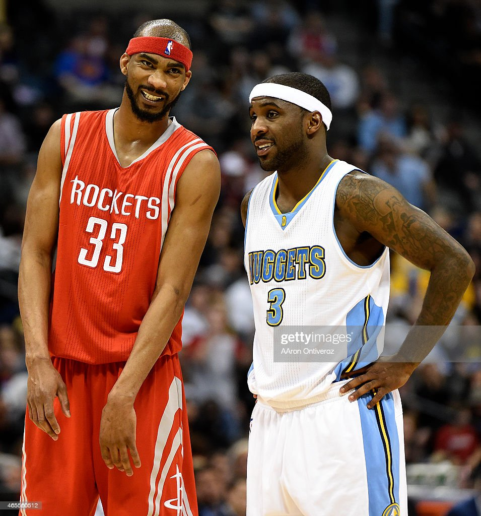Houston Rockets Vs Denver Nuggets: Former Teammates Corey Brewer Of The Houston Rockets And