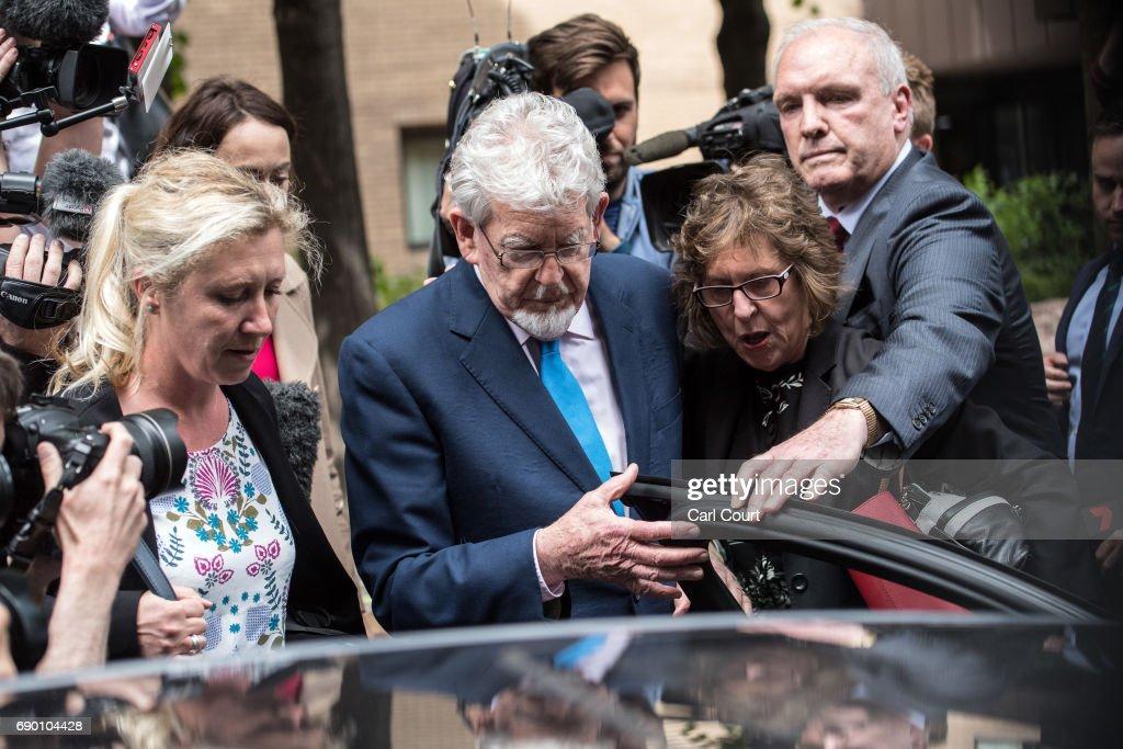 Rolf Harris Leaves Southwark Crown Court : News Photo