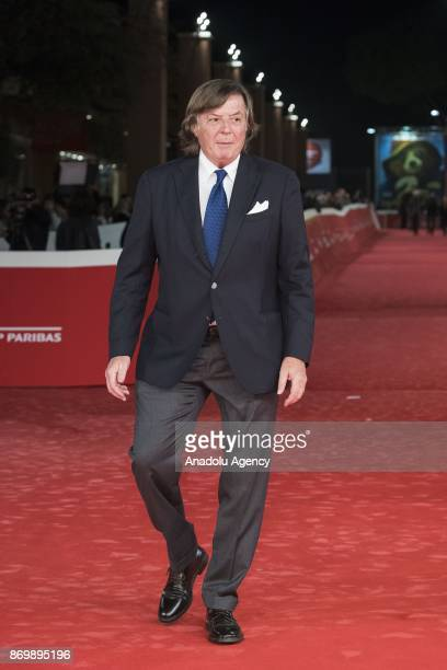 Former tennis player Adriano Panatta attends the red carpet of the movie 'Borg McEnroe' during 12th Rome Film Festival at Auditorium Parco della...