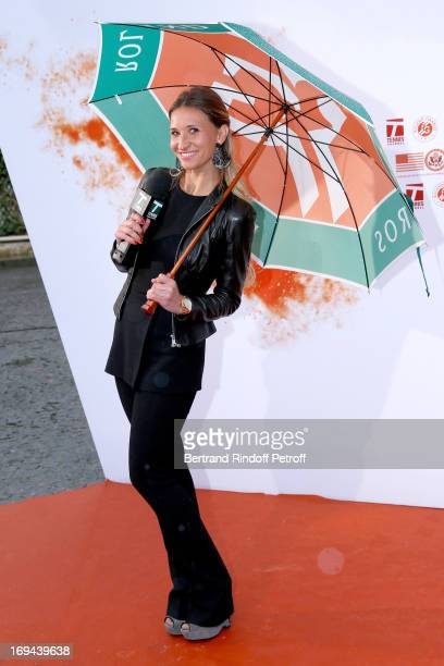 Former Tennis Player and commentator Tatiana Golovin attends Annual Photocall for Roland Garros Tennis Players at 'Residence De L'Ambassadeur Des...