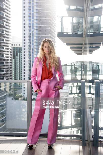 Former tennis player Anna Kournikova is photographed for Cosmopolitan Magazine Russia on March 25, 2019 in Miami, Florida. PUBLISHED IMAGE.