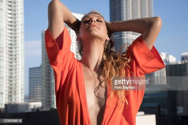 Former tennis player Anna Kournikova is photographed for Cosmopolitan Magazine Russia on March 25 2019 in Miami Florida PUBLISHED IMAGE