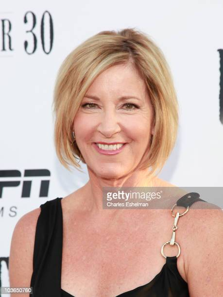 """Former tennis player Chris Evert attends the premiere of """"Unmatched"""" at Tribeca Cinemas on August 26, 2010 in New York City."""