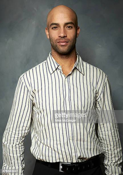 Former tennis player James Blake is photographed for Self Assignment on September 11 2013 in New York City