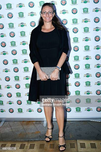 Former Tennis player Mary Pierce attends the Legends of Tennis Dinner. Held at Restaurant Fouquet's whyle Roland Garros French Tennis Open 2014 on...