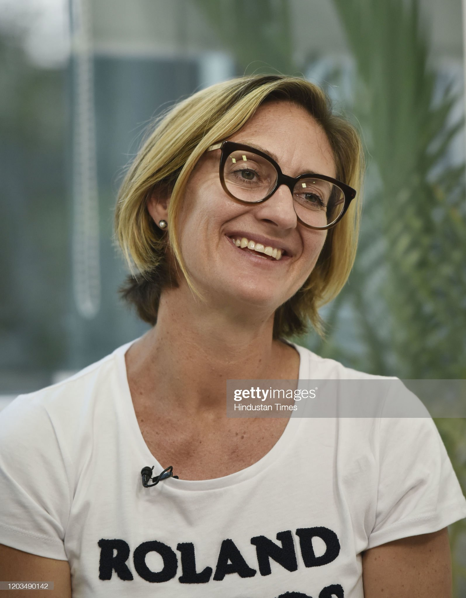 Profile Of Former Tennis Player Mary Pierce : News Photo