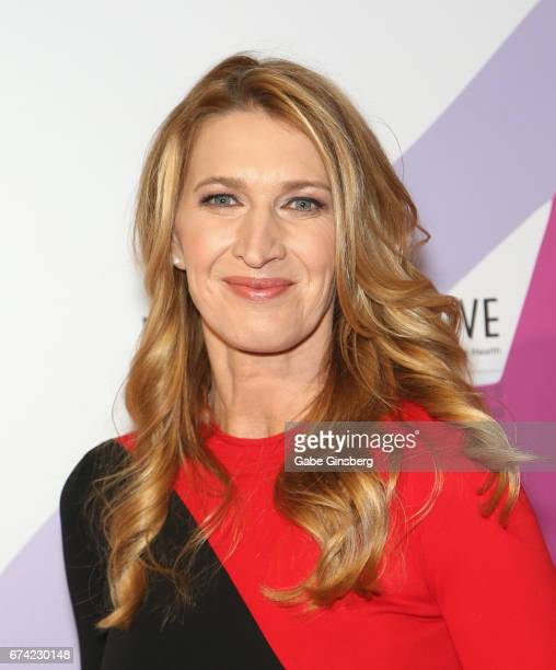 Former tennis player Steffi Graf attends Keep Memory Alive's 21st annual Power of Love Gala benefit for the Cleveland Clinic Lou Ruvo Center for...
