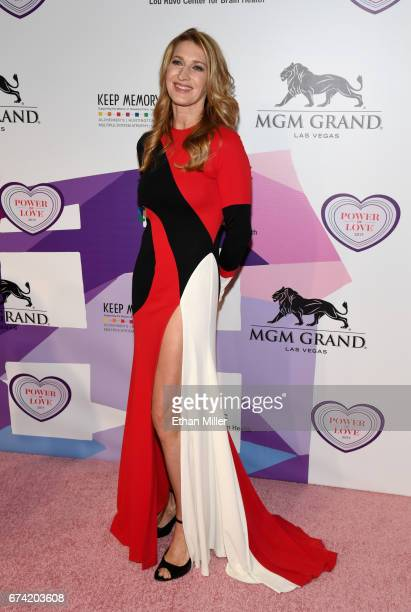 Former tennis player Steffi Graf attends the 21st annual Keep Memory Alive Power of Love Gala benefit for the Cleveland Clinic Lou Ruvo Center for...