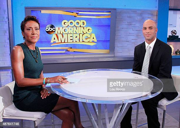 AMERICA Former tennis star James Blake speaks out after being mistakenly detained by the NYPD on 'Good Morning America' 9/10/15 airing on the ABC...