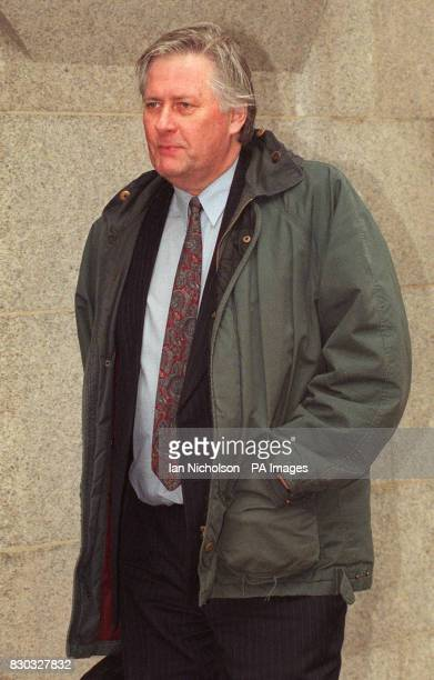 Former Thames Valley detective sergeant Robert Harrington, at the Old Bailey in London, where he is charged with trying to obtain 500 by deception...