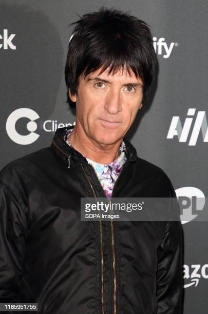 Former The Smiths frontman Johnny Marr on the red carpet arrivals board during the AIM Independent Music Awards 2019 held at the Roundhouse in London.