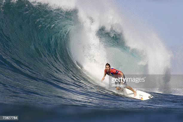 Former three times ASP World Champion Andy Irons of Hawaii seals his fourth Rip Curl Pipeline Masters title as he defeated long time nemesis and...