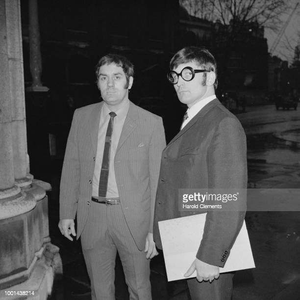 Former Tom Jones's managers Raymond Godfrey and John Glastonbury UK 14th January 1969