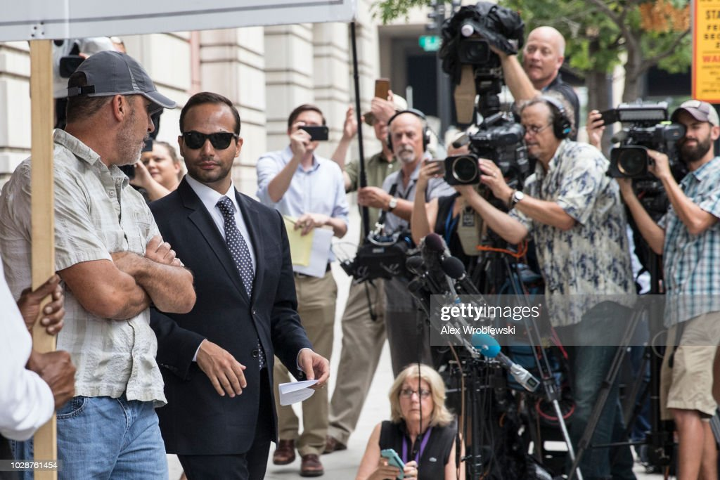 George Papadopoulos Sentenced For Making False Statements To FBI : News Photo