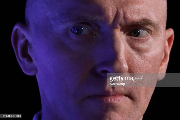 Former Trump Campaign foreign policy adviser Carter Page participates in a discussion during the CPAC Direct Action Training at the annual...