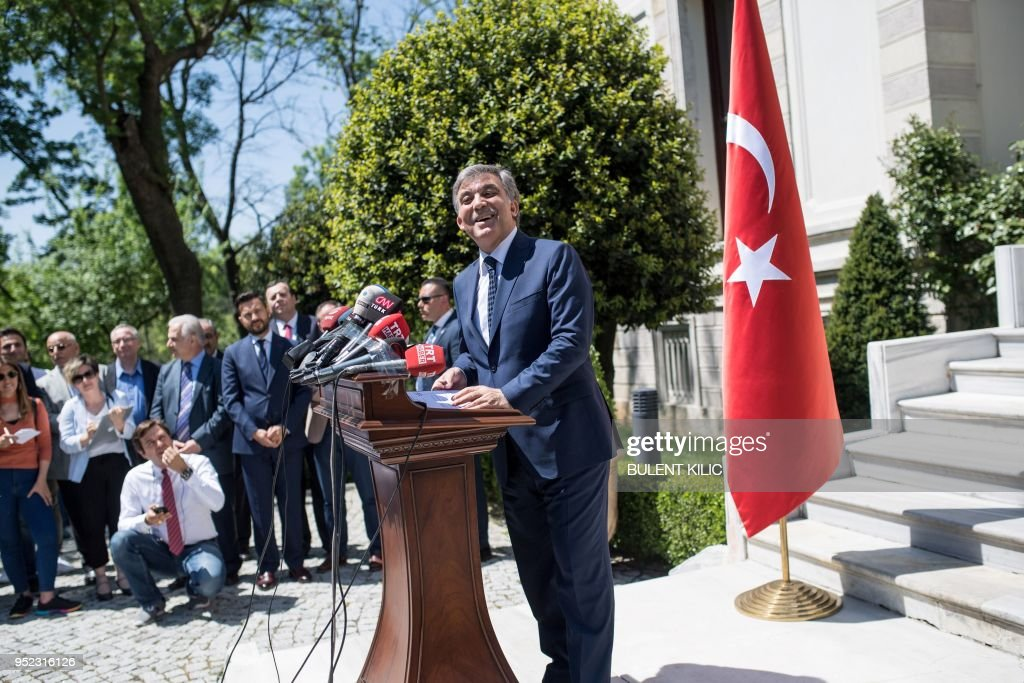 TURKEY-POLITICS-VOTE-GUL : News Photo