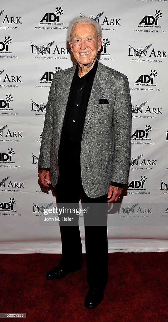 Former TV Host Bob Barker attends the premiere of 'Lion Ark' at the Charles Aidikoff Screening Room on November 15, 2013 in Beverly Hills, California.