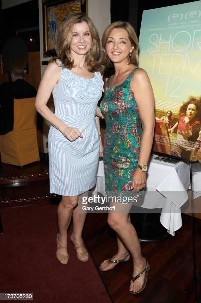 Former TV news anchor Jodi Applegate and TV news correspondent Christine Jansing attend the Short Term 12 New York Special Screening Dinner at Circo...