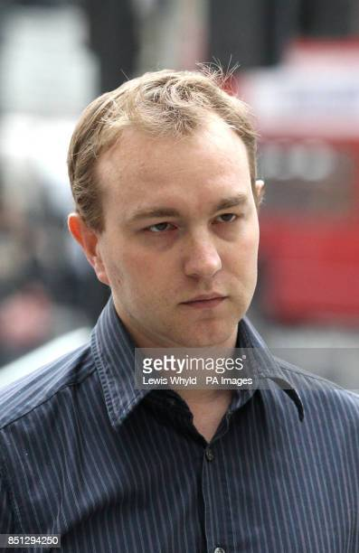 Former UBS and Citygroup trader Tom Hayes arrives at Westminster Magistrates Court where he will face trial on eight charges of conspiracy to...