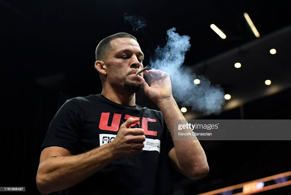 UFC 241 Cormier v Miocic 2: Open Workouts : News Photo
