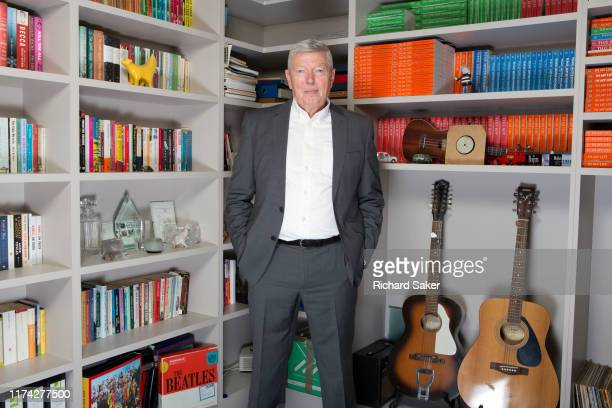 Former UK Labour Party politician Alan Johnson is photographed for the Observer on July 30 2019 in London England