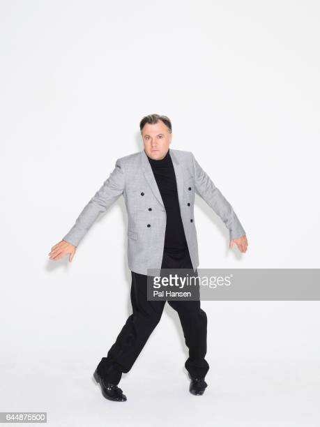 Former UK Labour party politician Ed Balls is photographed for Grazia on October 31 2016 in London England
