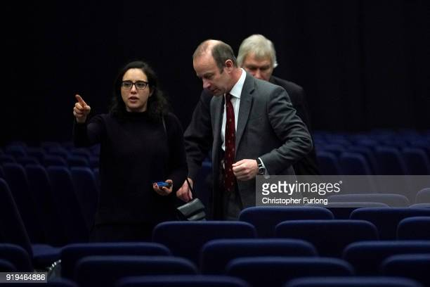 Former UKIP leader Henry Bolton leaves the UKIP ExtraOrdinary Leadership Meeting at the International Convention Centre after losing the leadership...