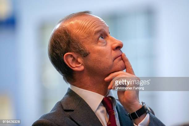 Former UKIP leader Henry Bolton pauses for thought after the UKIP ExtraOrdinary Leadership Meeting where he lost the leadership of the party on...