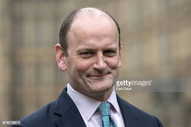 Former UKIP MP Douglas Carswell looks on during an interview on May 5 2017 in London England Following the local elections the Conservative Party...