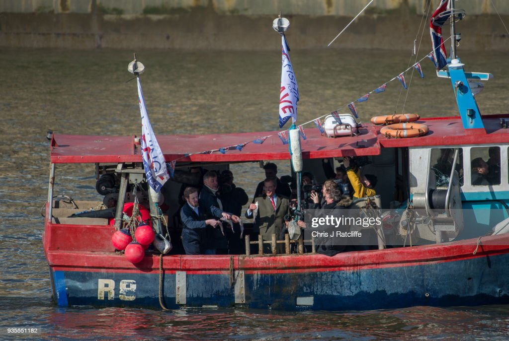 Fishing For Leave To Protest Brexit Deal