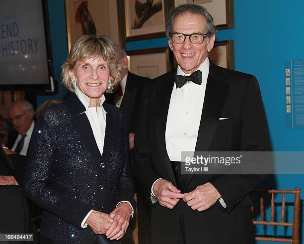 Former United States Ambassador to Ireland Jean Kennedy Smith and biographer Robert A Caro attend the New York Historical Society Weekend With...