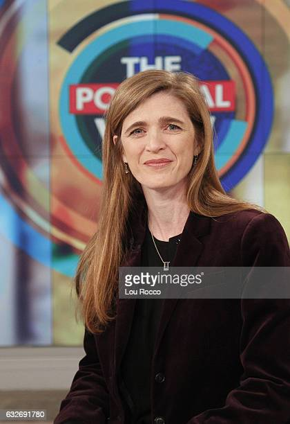 THE VIEW Former United States Ambassador to the United Nations Samantha Power is the guest today Tuesday January 24 2017 on Walt Disney Television...