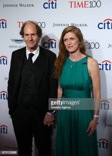 Former United States Ambassador to the United Nations Samantha Power attends the 2017 TIME 100 Gala at Jazz at Lincoln Center in New York United...