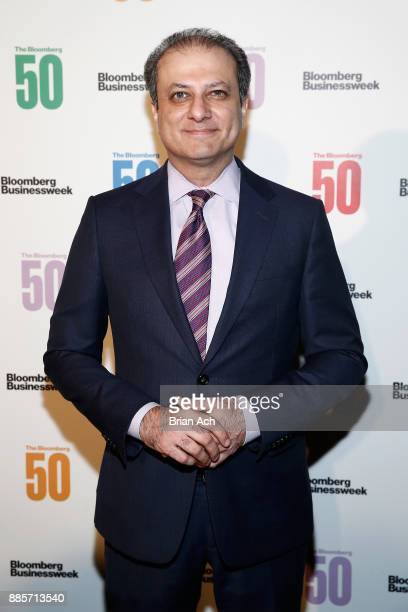 Former United States Attorney for the Southern District of New York Preet Bharara attends 'The Bloomberg 50' Celebration at Gotham Hall on December 4...