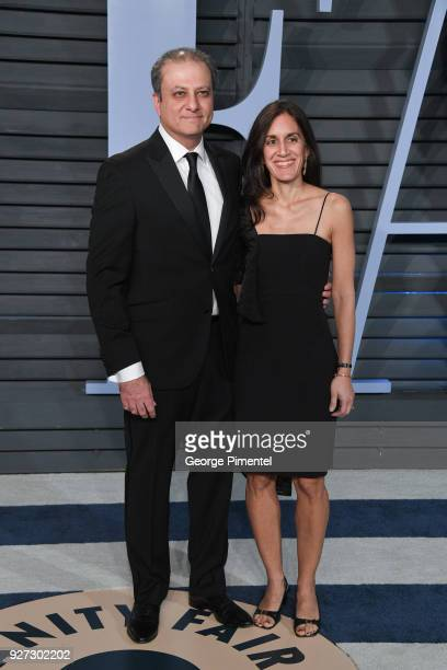 Former United States Attorney for the Southern District of New York Preet Bharara and Dalya Bharara attend the 2018 Vanity Fair Oscar Party hosted by...