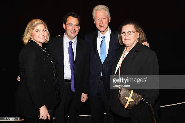 Former United States President Bill Clinton and guests attend Bridegroom Premiere during the 2013 Tribeca Film Festival at SVA Theater on April 23...