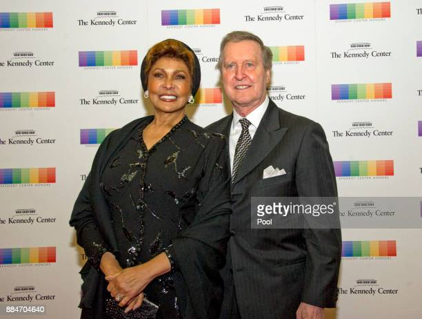 Former United States Secretary of Defense William S Cohen and his wife author Janet Langhart Cohen arrive for the formal Artist's Dinner hosted by...
