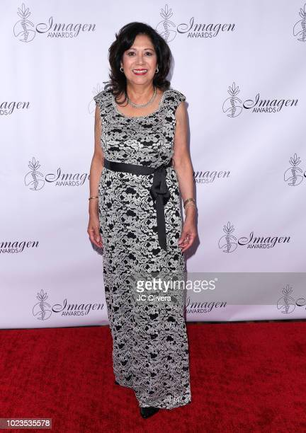 Former United States Secretary of Labor Hilda Solis attends the 33rd Annual Imagen Awards at JW Marriott Los Angeles at LA LIVE on August 25 2018 in...
