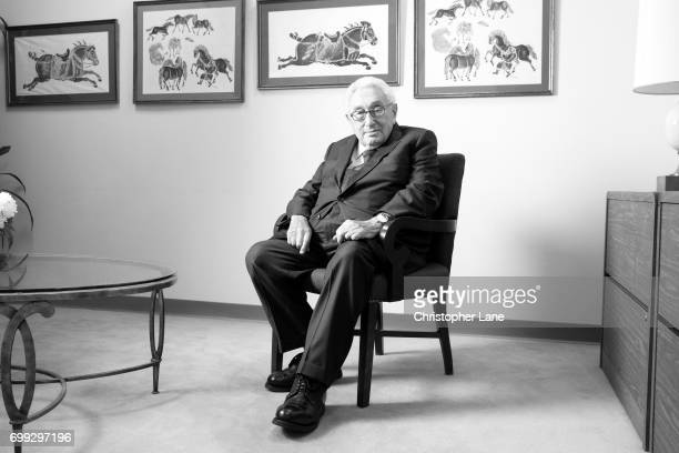 Former United States Secretary of State Henry Kissinger is photographed for The Times on January 19 2017 in New York City