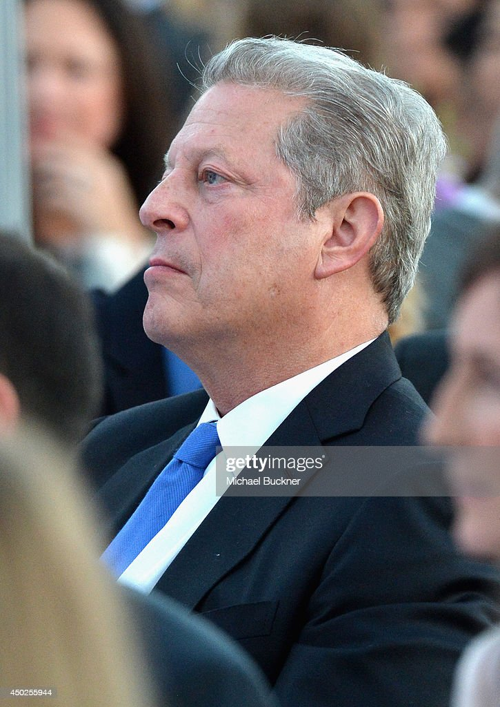 Former United States Vice President Al Gore inside the 13th Annual Chrysalis Butterfly Ball sponsored by Audi, Kayne Anderson and Stella Artois in Los Angeles, California on June 7th, 2014.