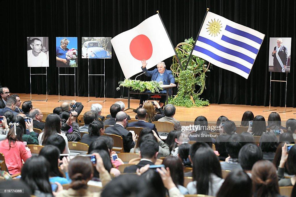 Former Uruguayan President Jose Mujica Visits Japan