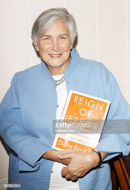 """Former U.S. Assistant Secretary of Education Diane Ravitch attends Cal State Northridge's """"Education On The Edge"""" lecture series held at California..."""