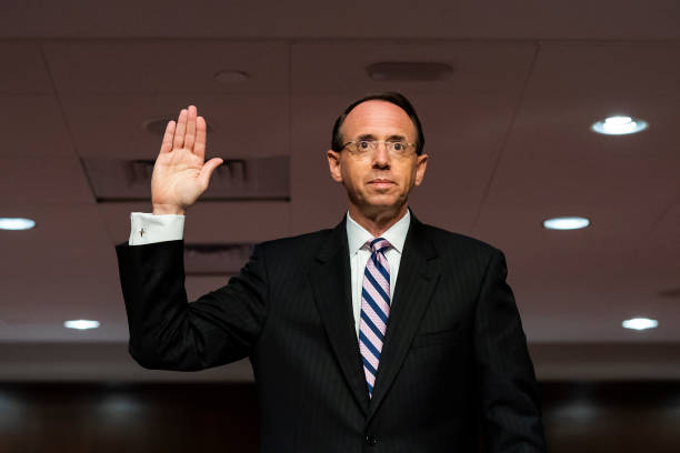 DC: Senate Hears Testimony From Former Deputy Attorney General Rod Rosenstein On Crossfire Hurricane Investigation