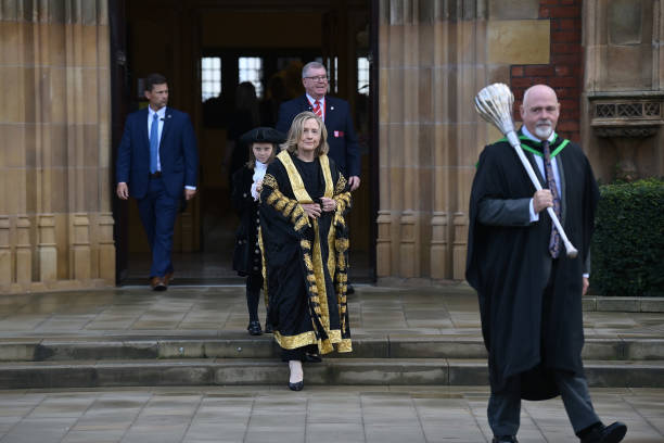 GBR: Hillary Clinton Is Inaugurated As Chancellor of Queen's University Belfast