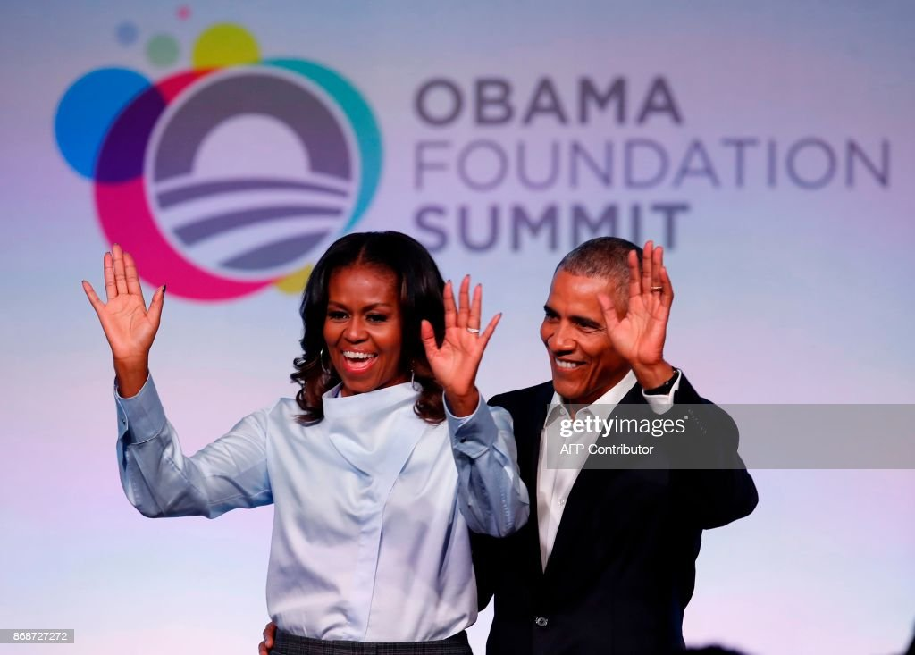 0 - Number of selfies taken of former US President Barack Obama at the Obama Foundation Summit. The former president banned selfies saying he'd prefer people to look him in the eye and shake his hand rather than take a selfie.