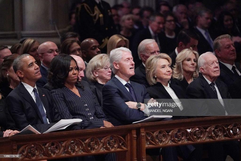 US-POLITICS-BUSH : News Photo