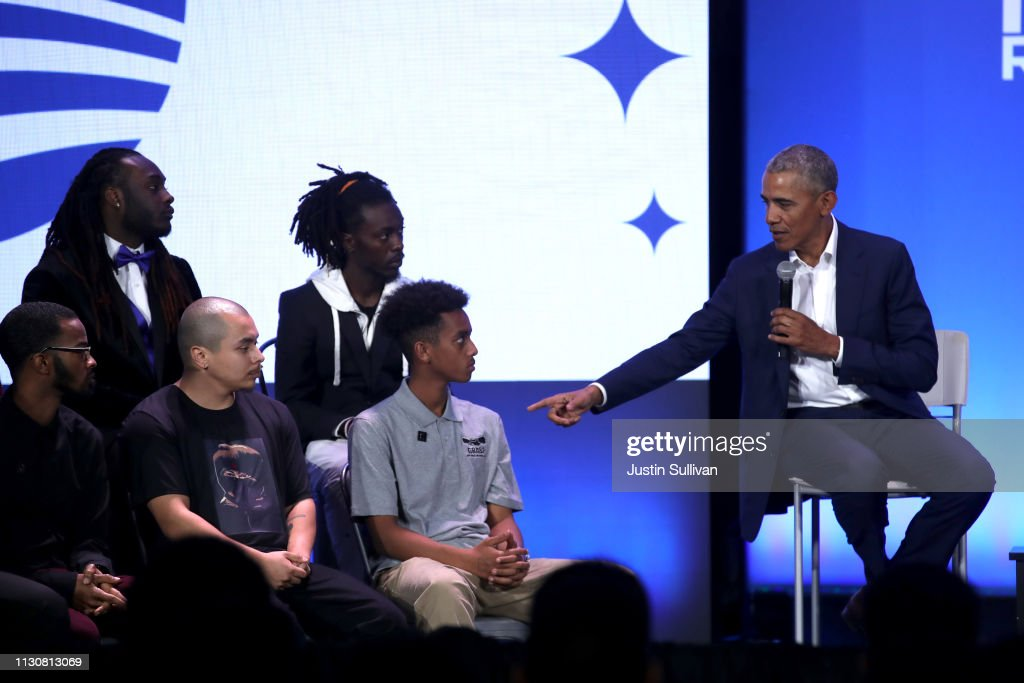 CA: Barack Obama Attends My Brother's Keeper's Alliance First National Gathering MBK Rising! In Oakland