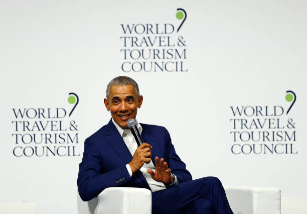 ESP: Barack Obama Attends World Travel And Tourism Council In Seville